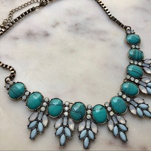 🆕Boho Turquoise Bauble Necklace💚💙